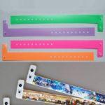 Kunststoffbänder in L-Form oder breiter Form