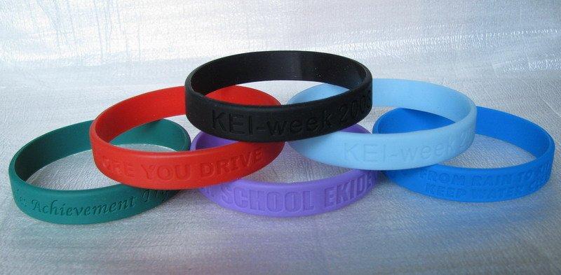 silikon armbänder