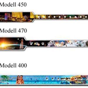 Kontrollbänder Kunststoff mehrfarbig 4c bedruckt
