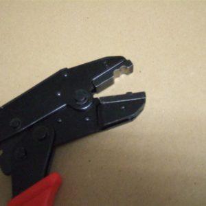 Zange für Alu-Verschluss Stoffbänder